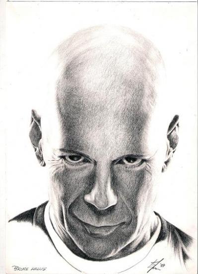 Bruce Willis por rudegirleva